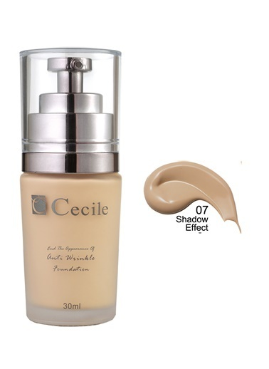 Cecile End The Appearance Of Anti  Wrinkle Foundation  07 Renkli